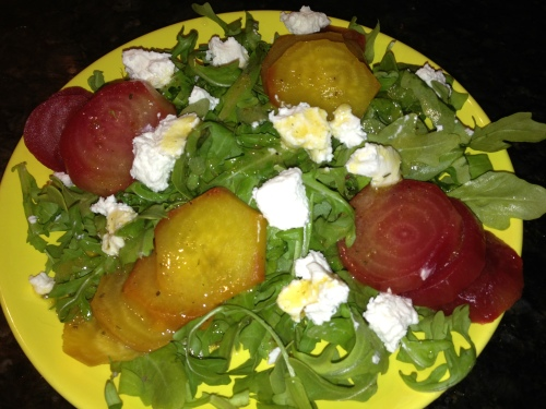 Roasted Heirloom Beet Salad