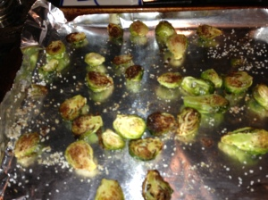 Roasted Brussels Sprouts cooked