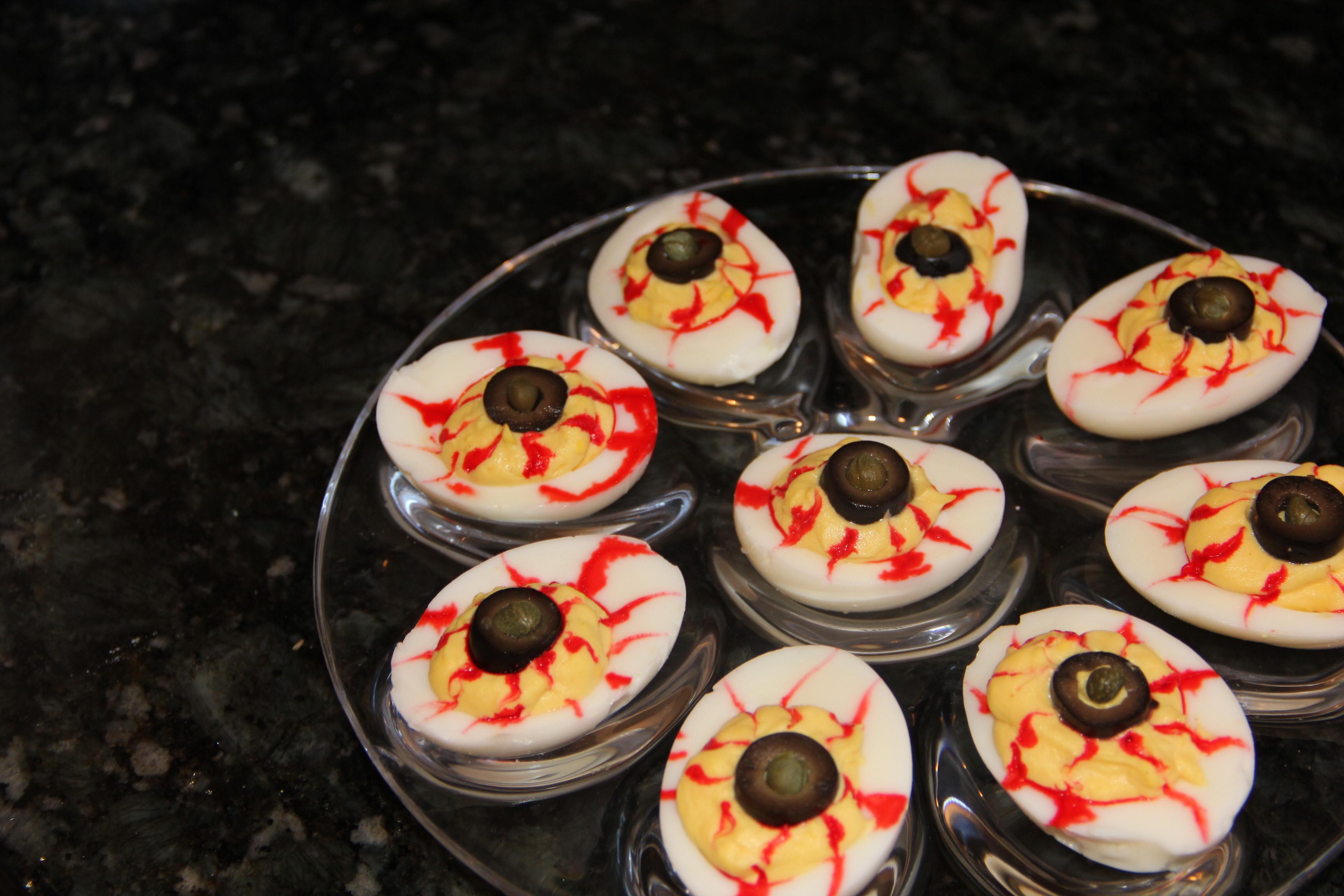 Halloween Appetizers | Kath's Kitchen Sync